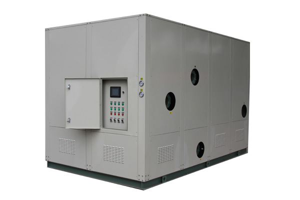 Water-cooled box type industrial chiller